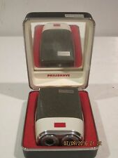 PHILLIPS HP1203 Batt Operated Electric Shaver/Razor,4 x AA,W/CASE EXCELLENT CND