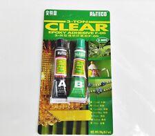 Alteco 3 Ton A+B Super Strong Clear Epoxy Adhesive 5 min 20g F-05