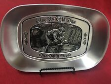 Dat'l Do-It Give Us This Day Our Daily Bread Tin Bread Tray Religious Decor
