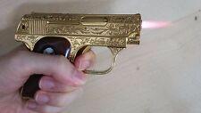 Vest Pocket Mini Lighter gun shape torch Colt Model 1908 cosplay costume sight