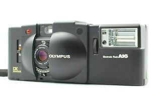 【Read NEAR MINT】Olympus XA3 Point & Shoot 35mm Film Camera +A16 Flash From JAPAN