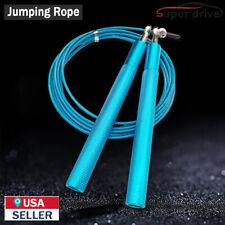 3 Meter Adjustable Jump Rope Speed Crossfit Gym Aerobic Exercise Boxing Blue