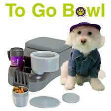 To Go Bowl - fits in car's cup holder - SILVER - Free Shipping!