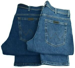 Mens Wrangler Texas stretch straight fit jeans FACTORY SECONDS  WA32