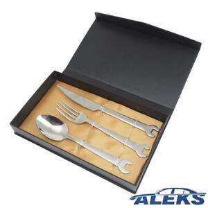 KS TOOLS Besteck-Set 3-teilig Werkzeug Männer Geschenke Männergeschenk