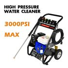 Gas Powered Pressure Washer 3000PSI at 215cc 7 Peak HP, 5 Nozzles, 4-Stroke photo