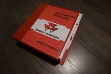 MASSEY FERGUSON MF 4245 4245 4255 4260 4270 REPARATURHANDBUCH WERKSTATTHANDBUCH