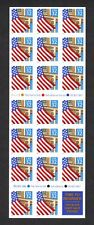 US #2920a MNH 32c Flag Over Porch Booklet - Small Date - Plate Number # V11111