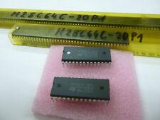 2 Stück/ 2 pieces M28C64C-200P1 = 28C64  64Kbit Parallel  EEPROM 200ns DIP28