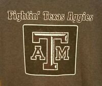 Vintage Texas A&M Fighting Aggies T Shirt Mens Size Large