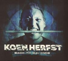 Koen Herfst - Back To Balance (CD) NEW/SEALED