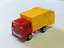 Matchbox Superfast Refuse Truck No.36 Colectomatic Diecast 1979 England 1:64