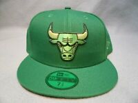 New Era 59fifty Chicago Bulls Color Prism Pack BRAND NEW Fitted cap hat green
