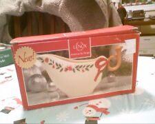 Lenox Holiday Inspirations & Illustrations Gravy Boat Nib