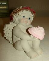 Vintage Dreamsicles Cherub Angels BEST FRIEND ~Kristin 1997~LARGE