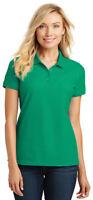 Port Authority Women's Short Sleeve Knit Core Classic Pique Polo Shirt. L100