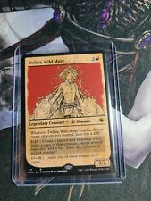 Delina, Wild Mage - Showcase M/NM Red Legendary Creature Elf Rare TCG MTG AFR