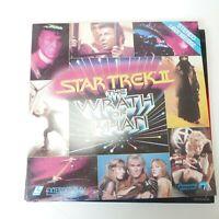 Star Trek II: The Wrath of Khan LV 1180 Paramount Home Video Laserdisc Videodisc