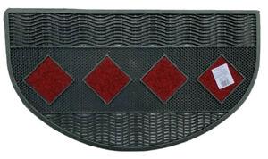 Zerbino tappeto mezzaluna asciugapasso 40 x 70 mod. Poker MADE IN ITALY