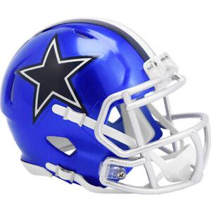 Dallas Cowboys NFL Flash Alternate Revolution Speed Mini Helmet