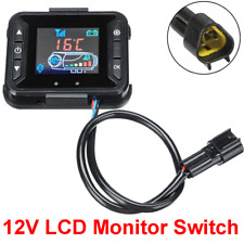 12V Car Track Air Parking Diesel Heating Heater Controller LCD Monitor Switch