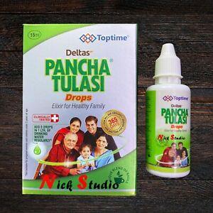 Pacha Tulsi Drops - Pancha Tulsi Drops Pacha Tulasi Drops 15 ml