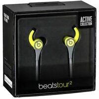 Authentic Beats by Dr. Dre Tour2 Active In-Ear Headphones with Mic Yellow Gray
