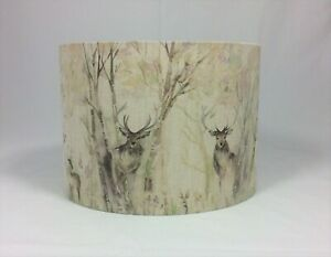 LAMPSHADE HANDMADE IN UK - 30 cm Voyage Maison Enchanted Forest Fabric