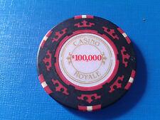 JAMES BOND 007 $100000 CASINO ROYALE CHIP