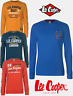 SWEAT SHIRT LEE COOPER COL ROND HOMME DOUBLURE EN POLAIRE DU S AU 2XL