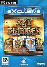 Age of Empires Collectors Edition on PC DVD Kings Conquerors Rome
