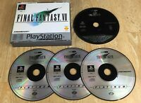 FINAL FANTASY VII 7 PLATINUM for SONY PS1, PS2 & PS3 by Square Soft