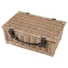 Wicker Country Decorative Baskets with Lid
