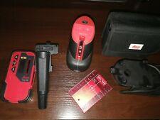 LEICA Livella Laser Autolivellante Leica Lino L2P5 + Ricevitore RVL100+Tripiede