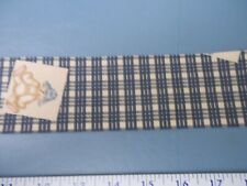 New listing Daisy Kingdom Fabric Blue Jean Roll Of Matching Ribbon New In Roll