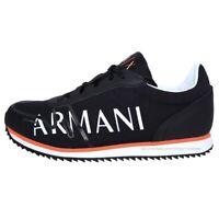 Scarpe uomo Armani Exchange Sneakers XUX062 XV222 Nero