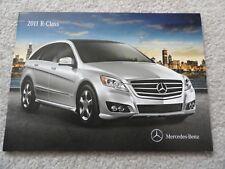 2011 Mercedes Benz R350  Sales Brochure