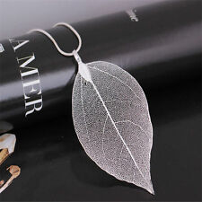Necklace Ladies Long Chain Jewelry Women Special Leaves Leaf Sweater Pendant