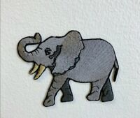 Cool Elephant Huge Animal Embroidered Iron Sew on Patch j1809