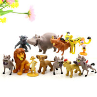 Lion King Movie Plastic Assorted 12 pcs Figures Set Cake Topper Party Gift Toys