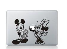 Mickey Minnie Cute Sticker Decal Vinyl Cover  Macbook Air Pro Retina 13 Laptop