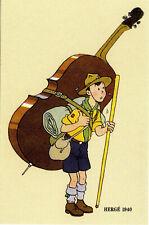"Carte FPS ""50ans calendrier scout 1940""HERGE1992 NEUVE!"