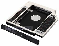 2nd HARD DISK HDD HD SSD Caddy Adattatore Per Lenovo Thinkpad L412 swap gt33n DVD