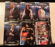 Topps WWE 2016 Perspectives 36 Card Insert Set Authority & Anti-Authority Cards