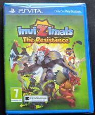 Invizimals The Resistance PS VITA NEW UK PAL Sony Playstation PSV invisimals