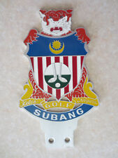 Subang Golf Malaysia car badge for Mercedes Austin Morris VW Jaguar MG Mini