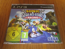 Sonic & SEGA All Stars Racing PROMO – PS3 ~ NEW (Full Promotional Game)