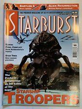 Starburst January 1998 Volume 20 No 5 Issue#233 Magazine Babylon 5