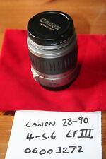 Canon EF 28-90 mm f:4.0-5.6 Zoom III LENTE. Canon Eoes AF BAIONETTA-in buonissima condizione