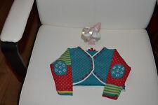 veste  catimini  6 mois bleu rouge tres mimi
